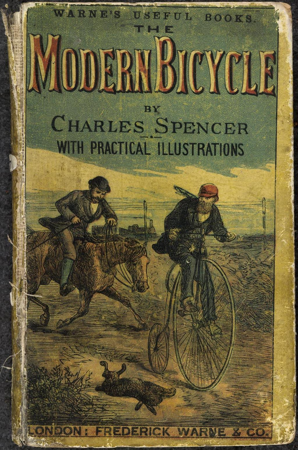 Modern Book Cover History : Book detail the modern bicycle