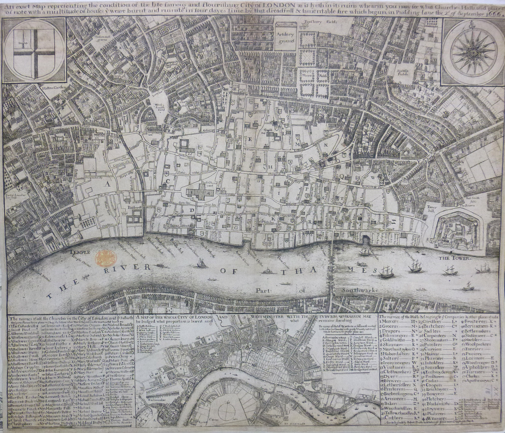 Unlock King George IIIs Historical Maps And Views Of London And - London map historical
